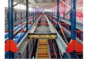 Shuttle Racking System | Best Shuttle Racking System Dubai UAE